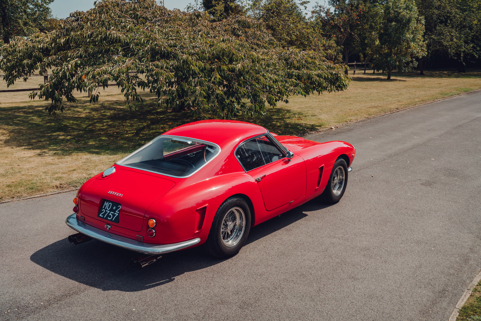 Ferrari 250 SWB Top View