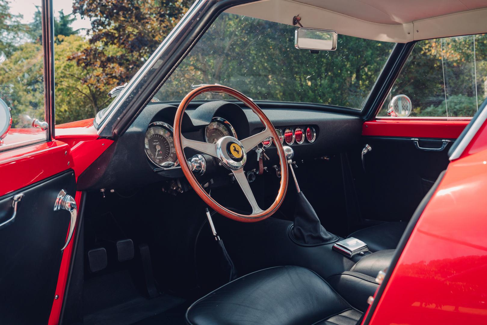Ferrari 250 SWB Interior