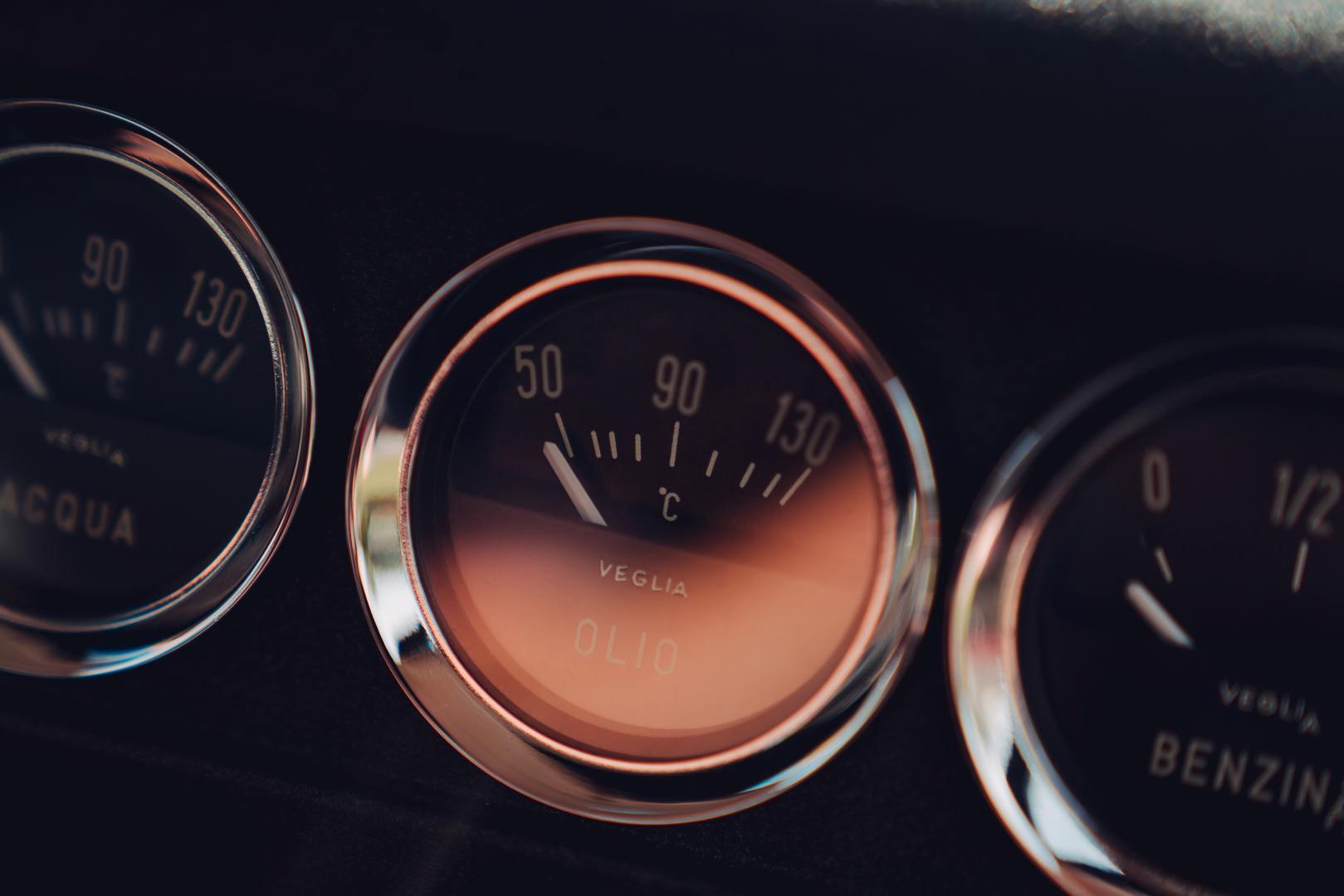 Ferrari 250 SWB gauges