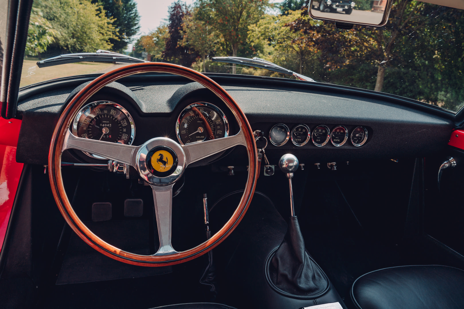 Ferrari 250 SWB cabin