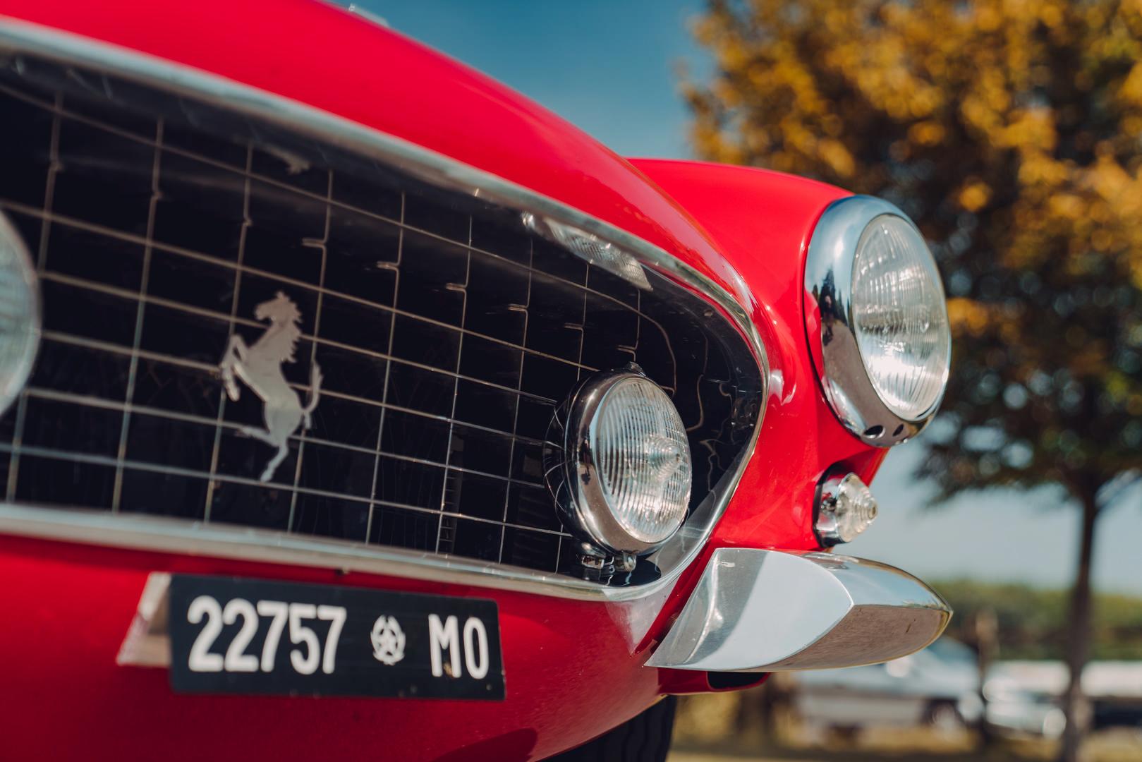 Ferrari 250 SWB headlights