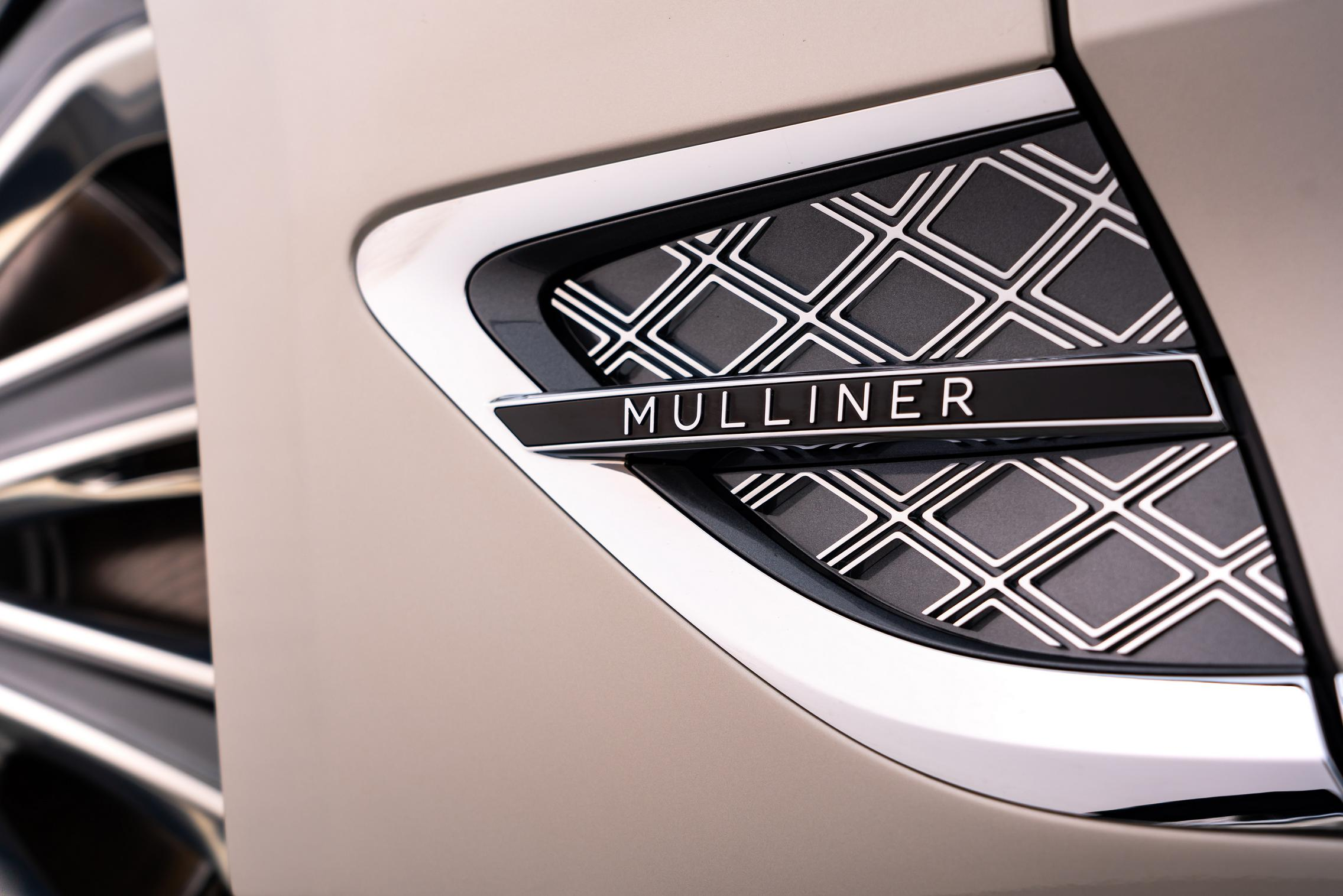 Bentley Mulliner Badge