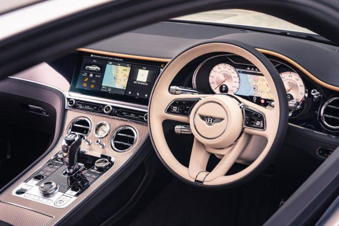 Bentley Continental GT Mulliner Steering Wheel