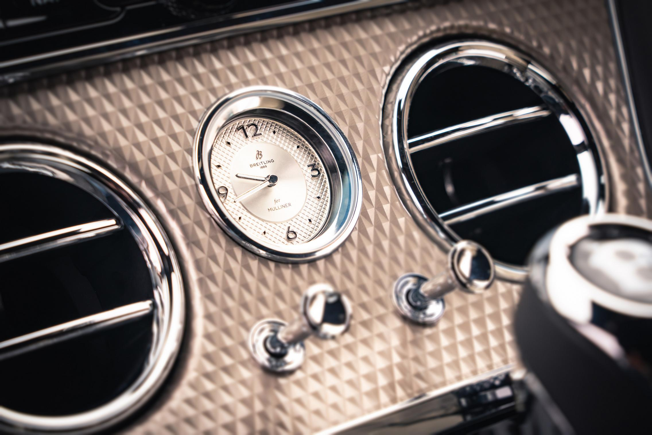 Bentley Continental GT Mulliner Switches
