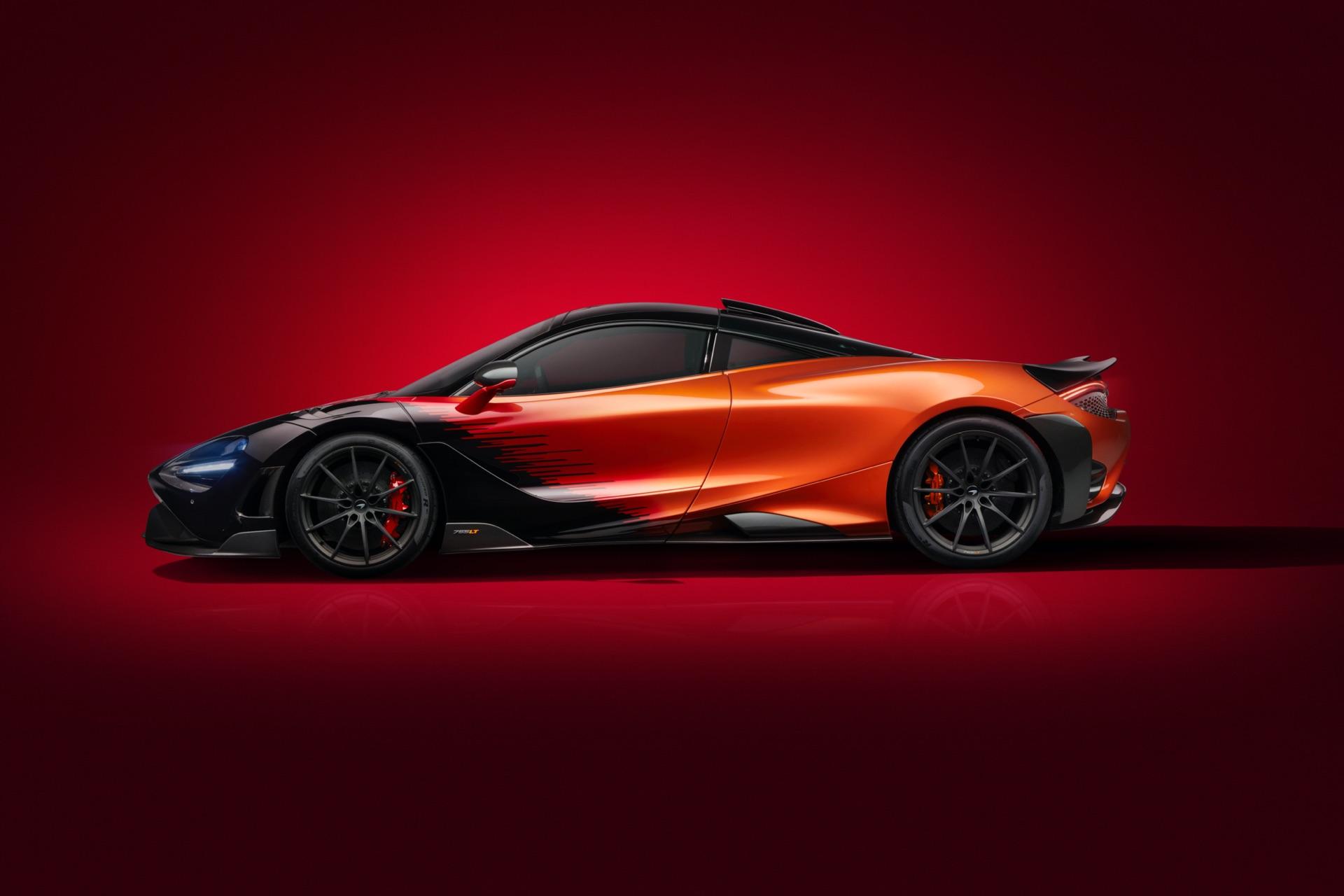 MSO McLaren 765LT Strata Side