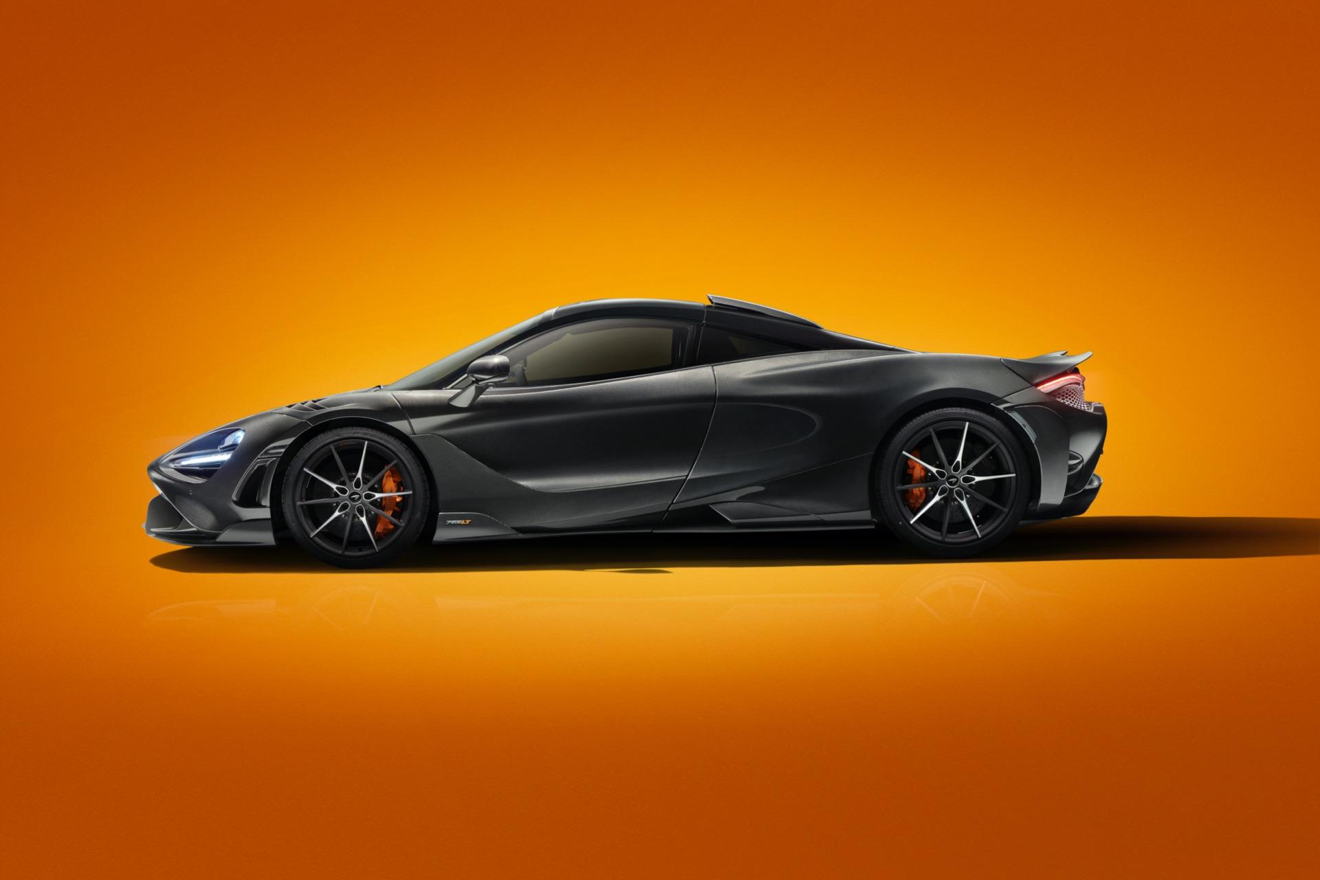 MSO McLaren 765LT Carbon Side