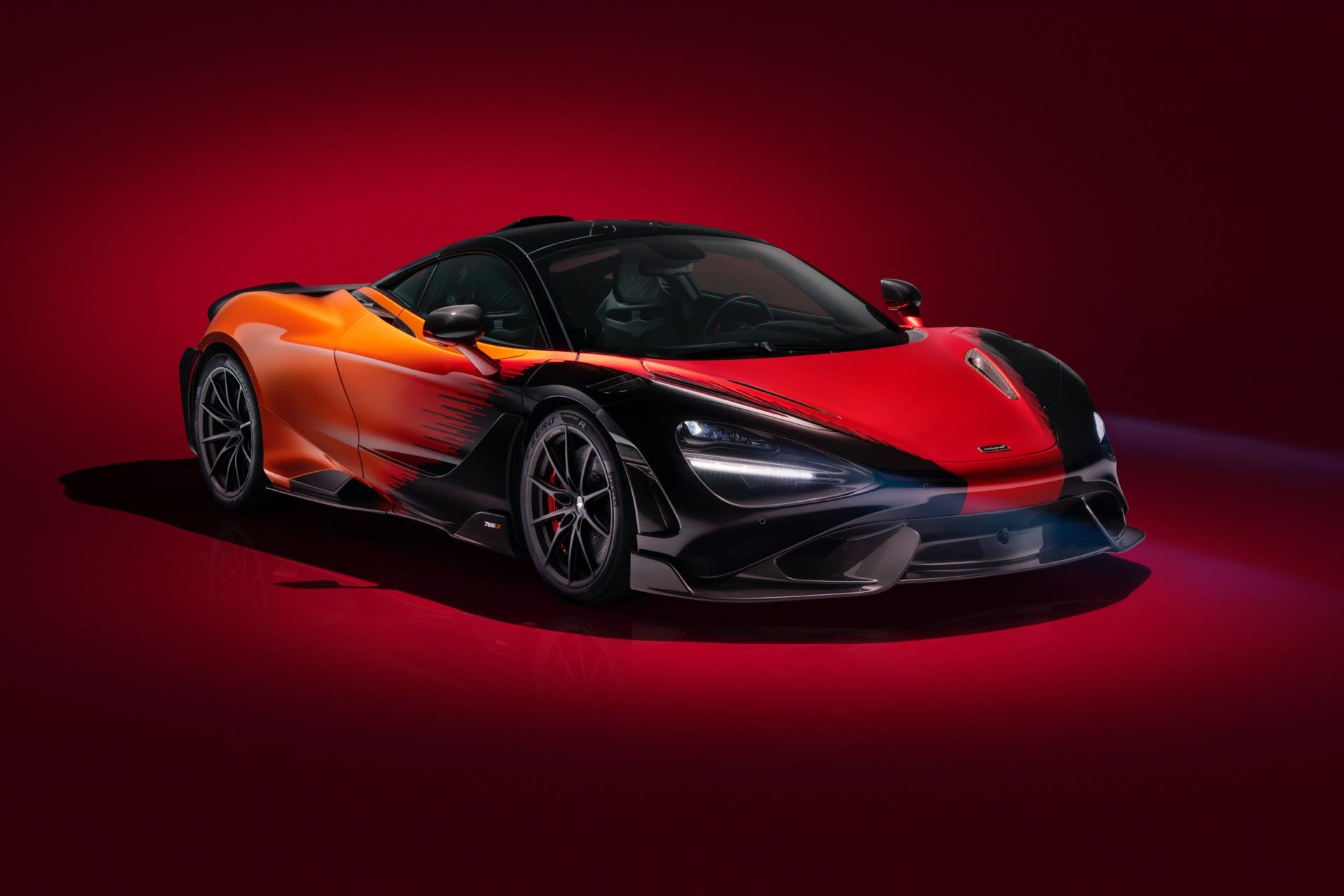 MSO McLaren 765LT Strata Front