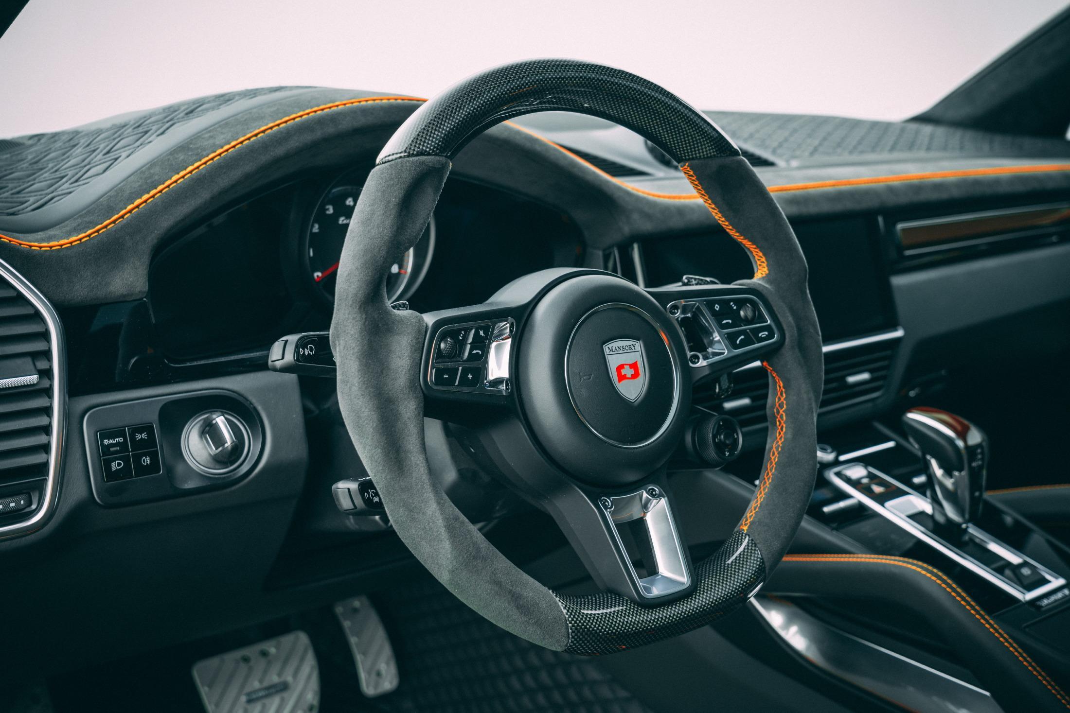 Mansory Cayenne Steering Wheel