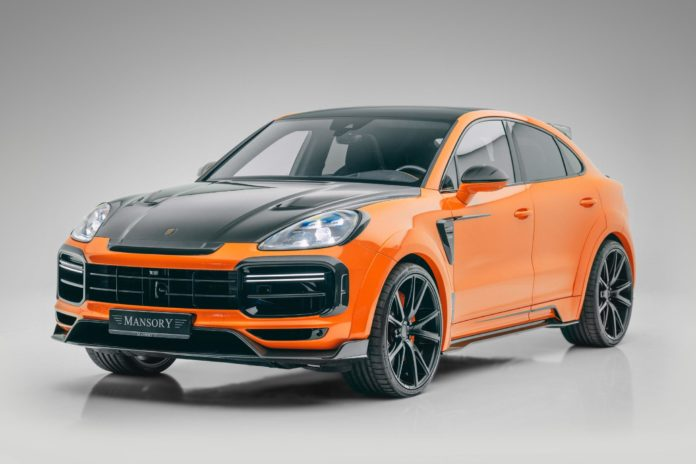 Mansory Porsche Cayenne Turbo Coupe Gets 700 hp