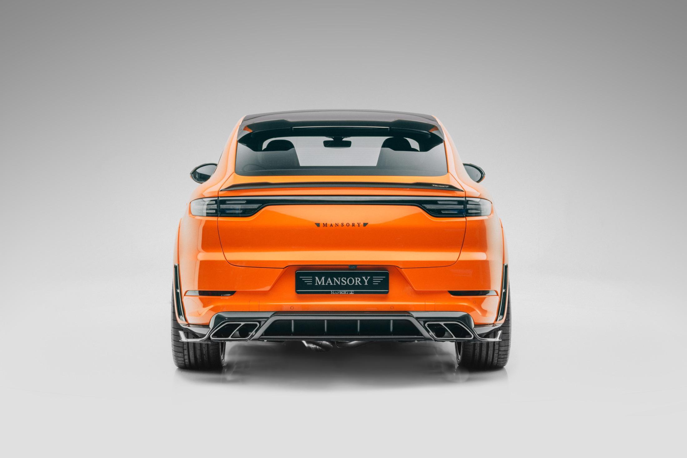 Mansory Porsche Cayenne Turbo Coupe Rear Lights
