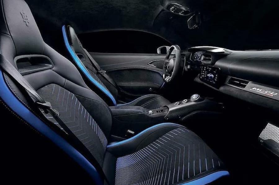 Maserati MC20 Leaked Photos