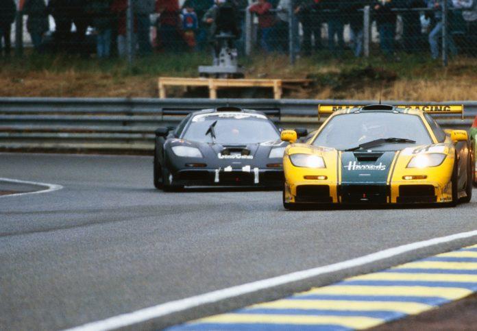 McLaren F1 GTR at 24 Hours of Le Mans 1995