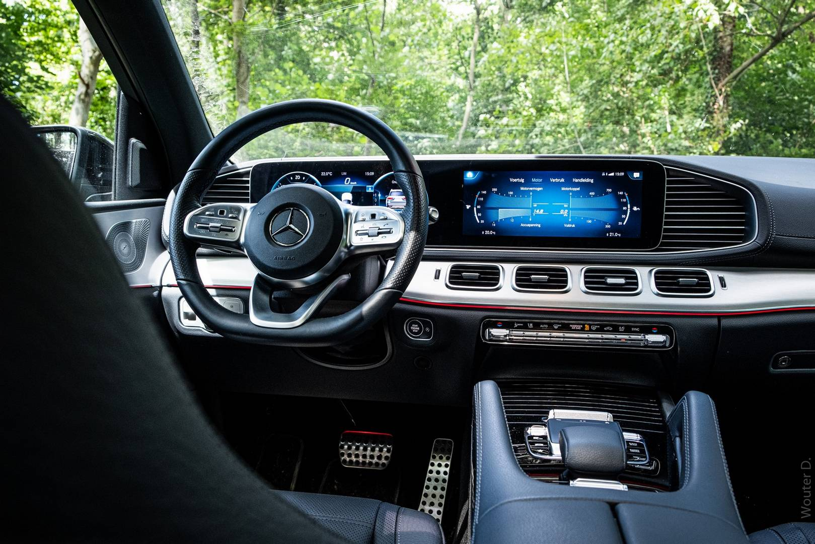 Mercedes-Benz GLS 400d Cockpit