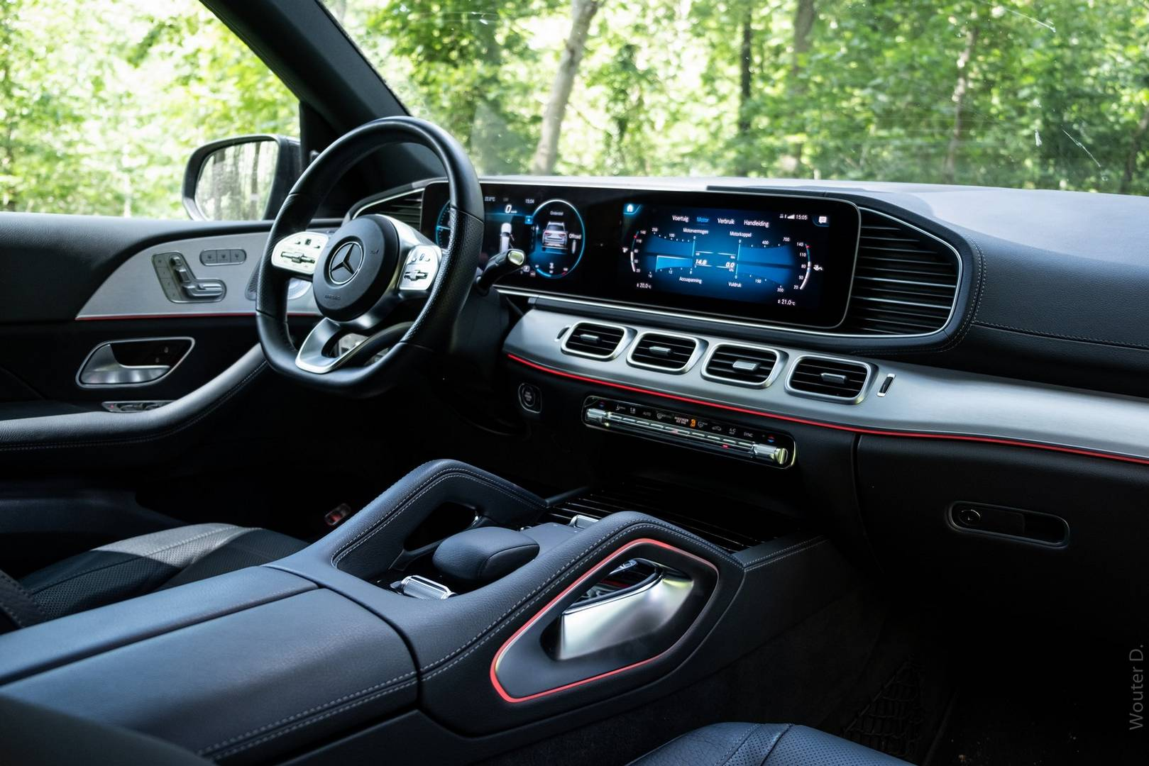 Mercedes-Benz GLS 400d Interior
