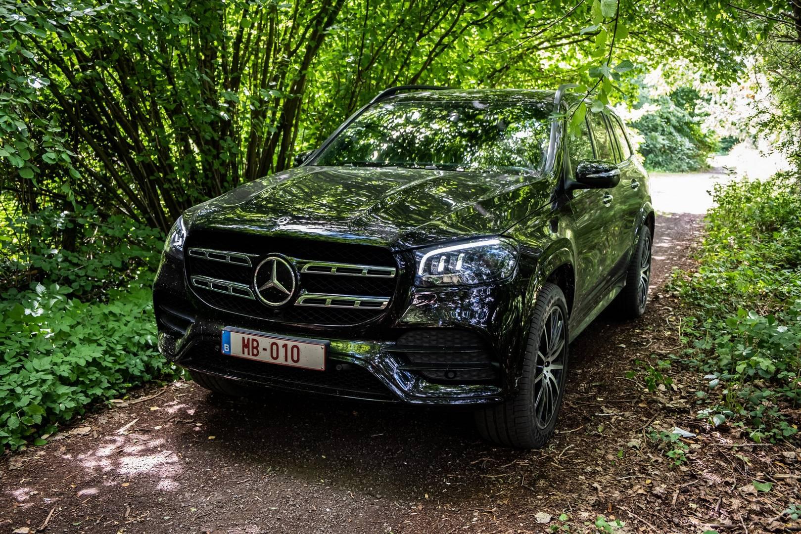 Mercedes-Benz GLS 400d Specs