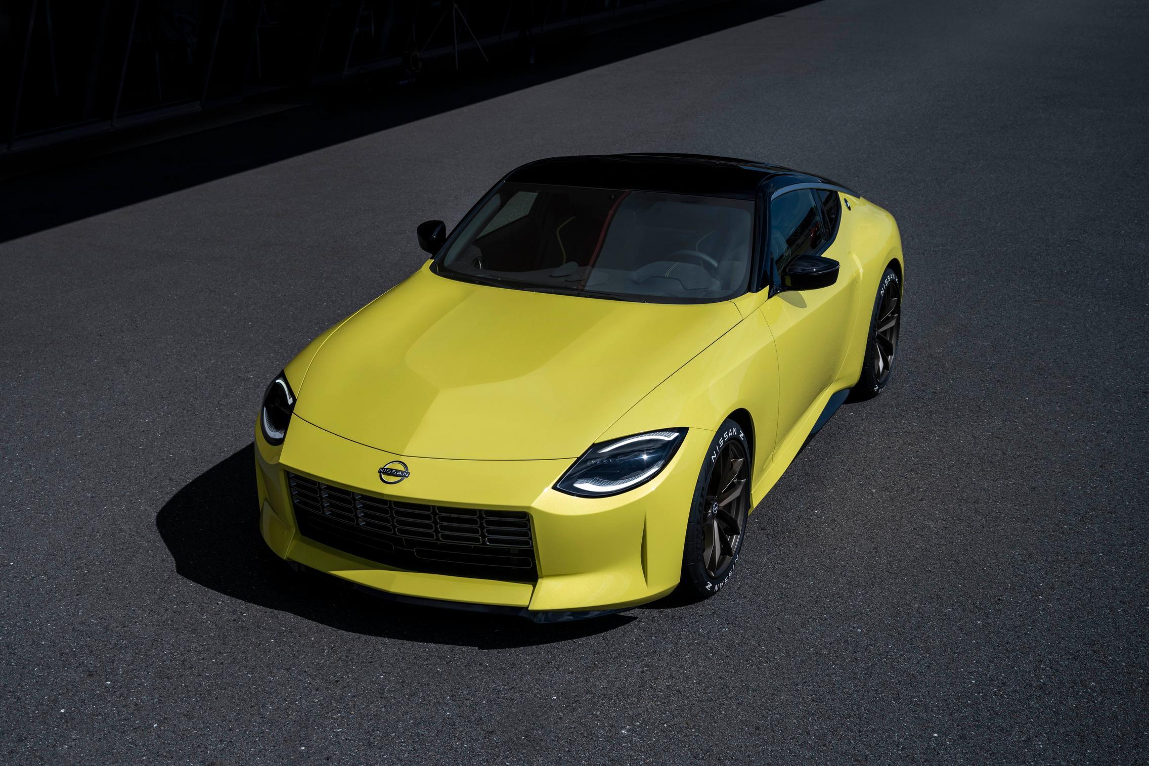 Nissan Z Proto Yellow
