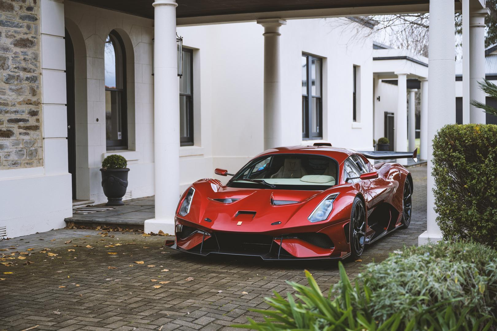 Red Brabham BT62R