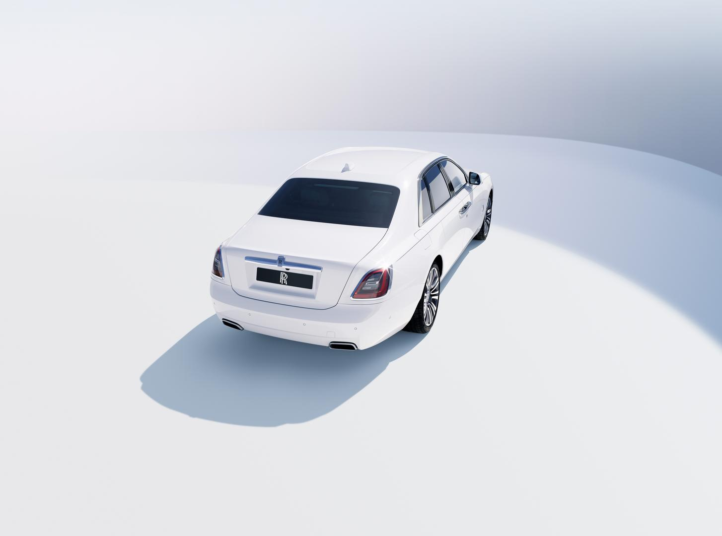 White 2021 Rolls-Royce Ghost
