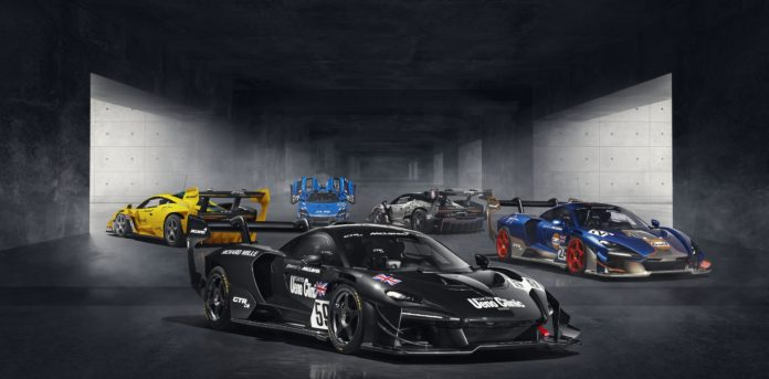 McLaren Senna GTR LM Revealed: 5 Cars Recreate 1995 Le Mans Finishers