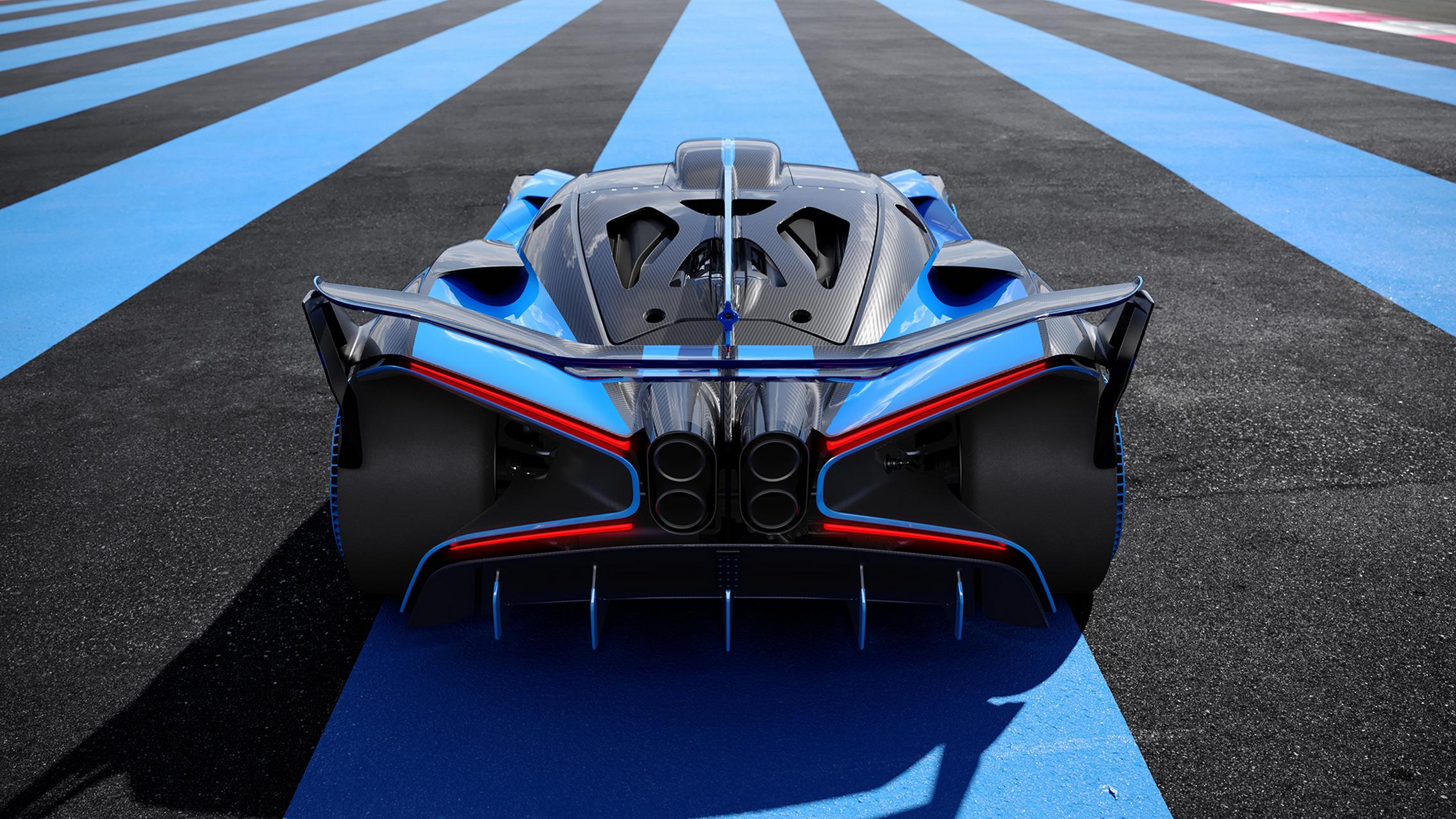 Bugatti Bolide rear