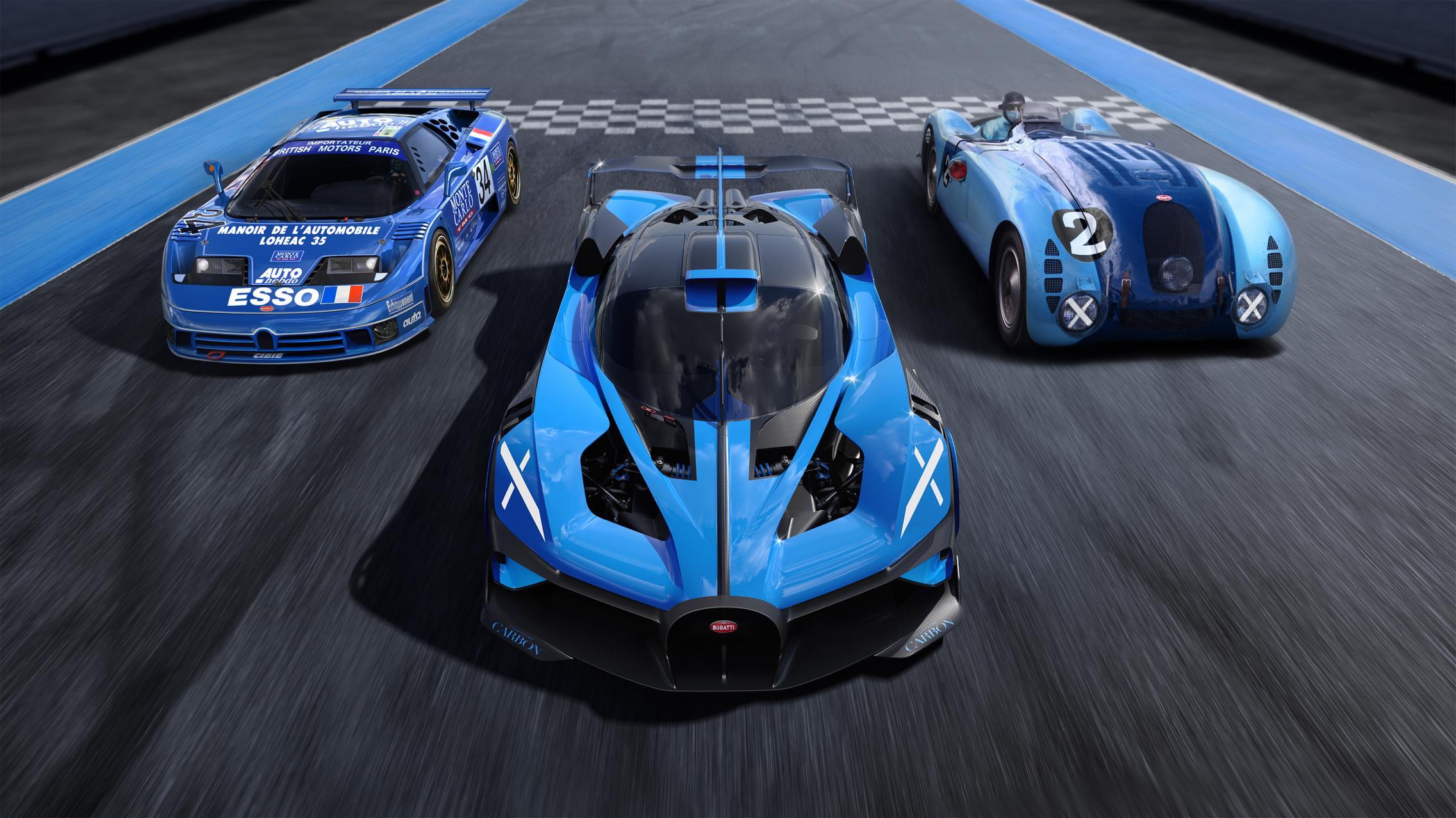 Bugatti Group shot
