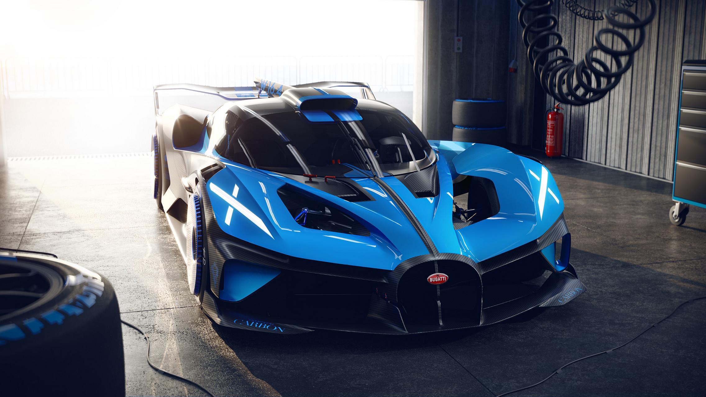 Bugatti Bolide Specs