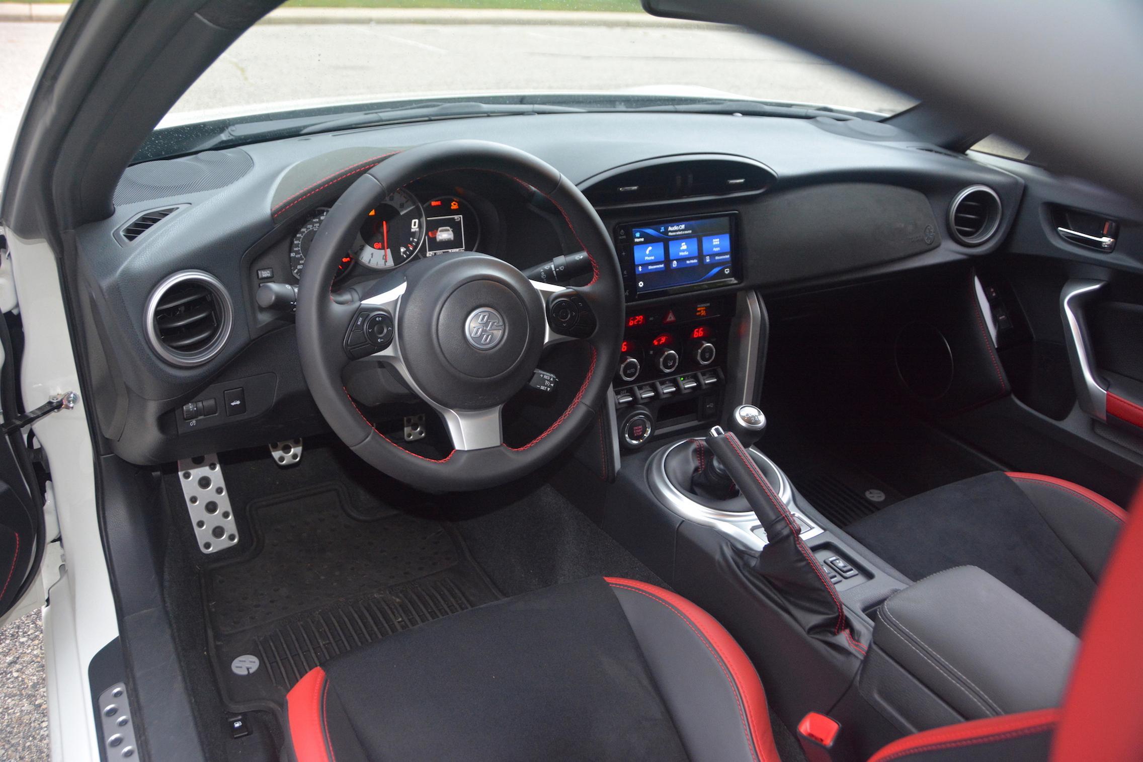 2020 Toyota 86 GT TRD Interior
