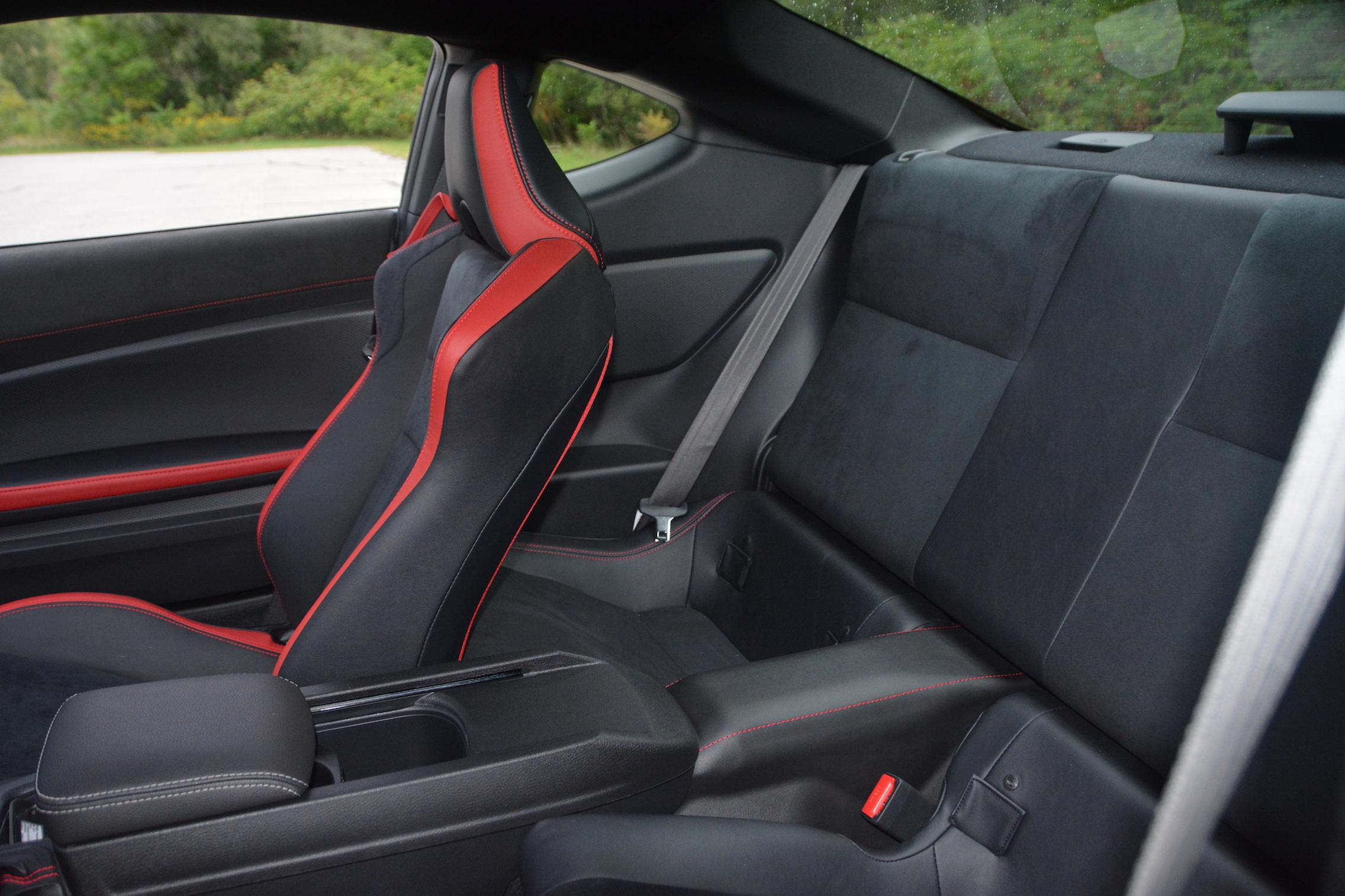 2020 Toyota 86 GT TRD Rear Seats