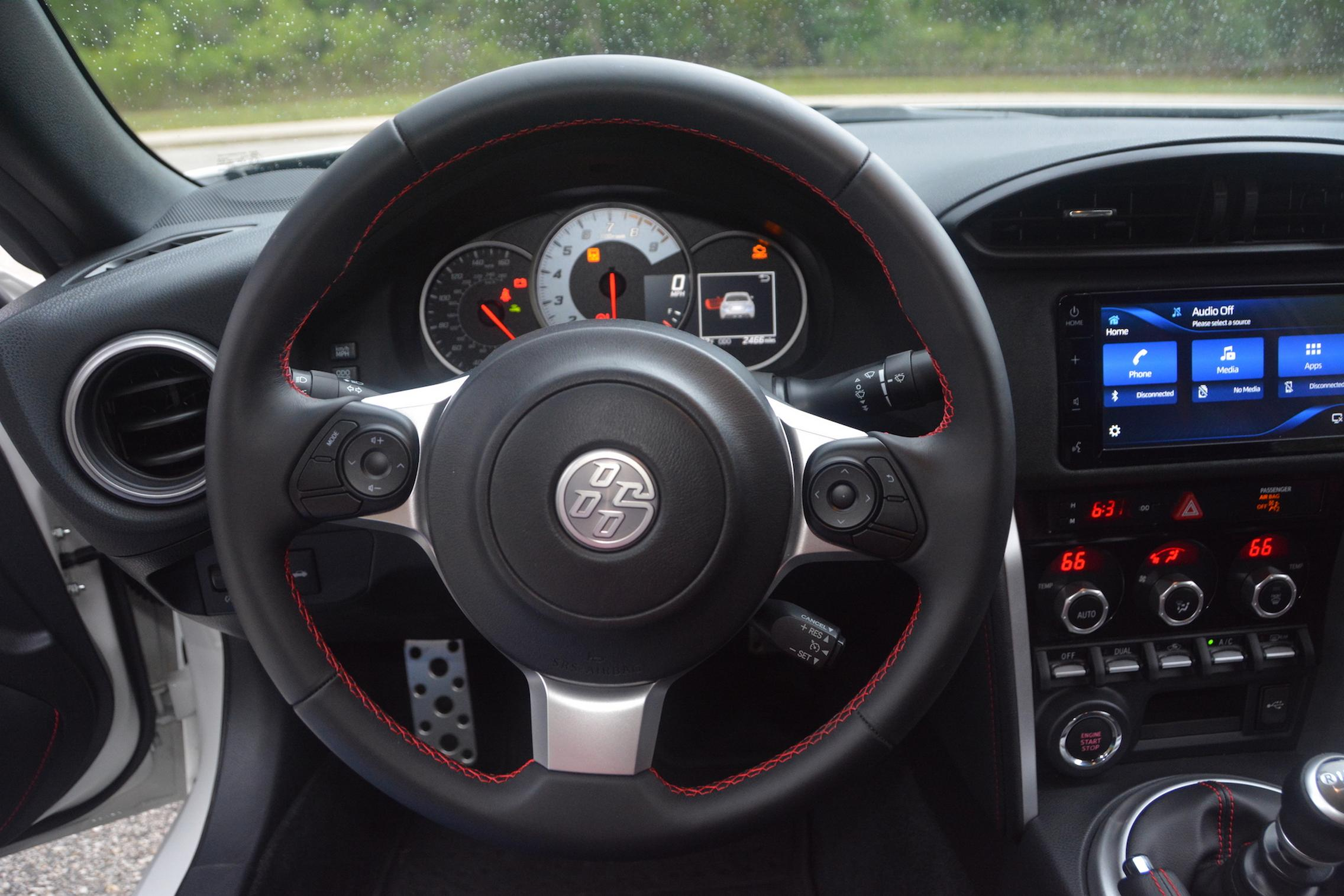 2020 Toyota 86 GT TRD Steering Wheel