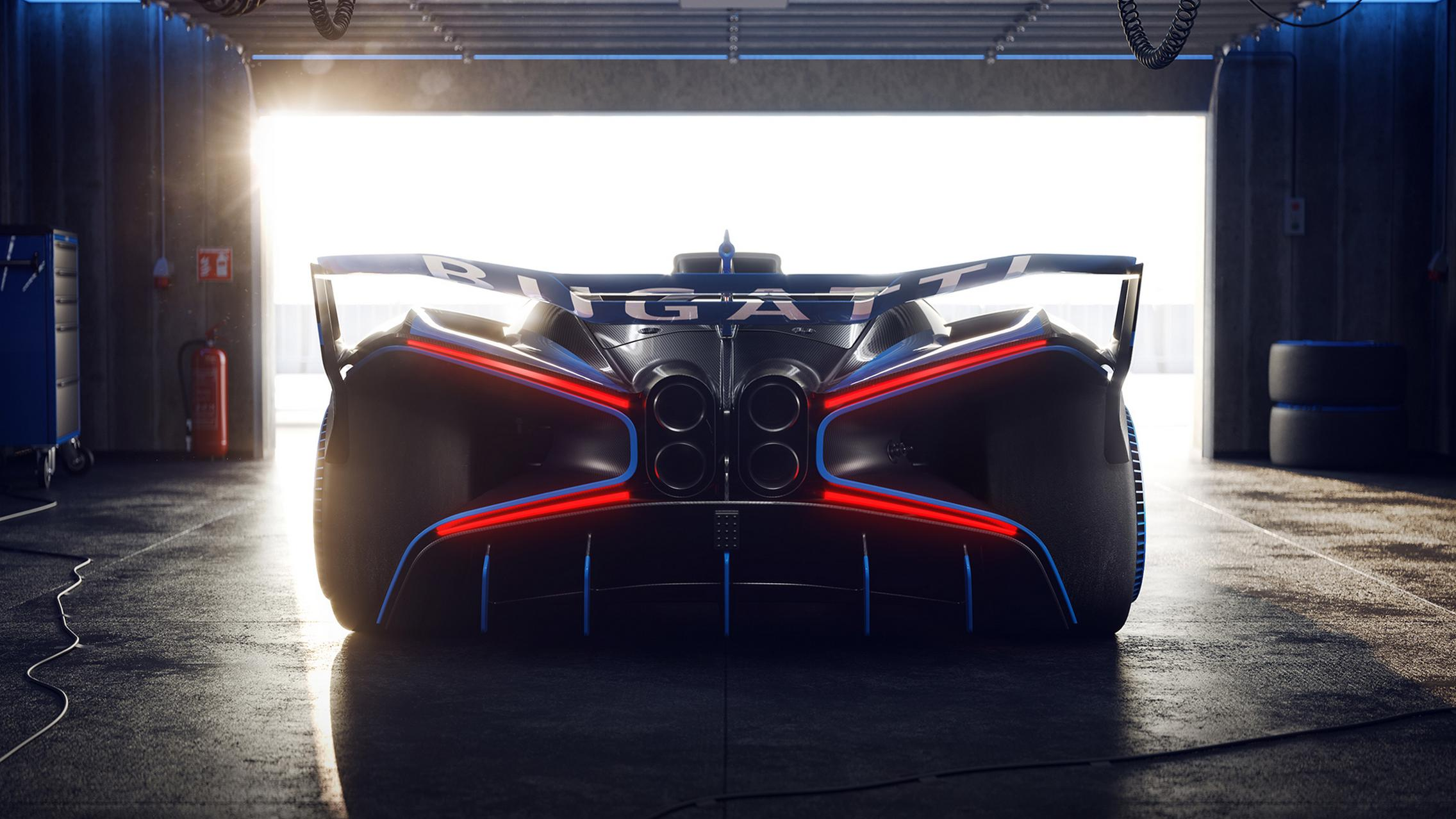 Bugatti Bolide Review