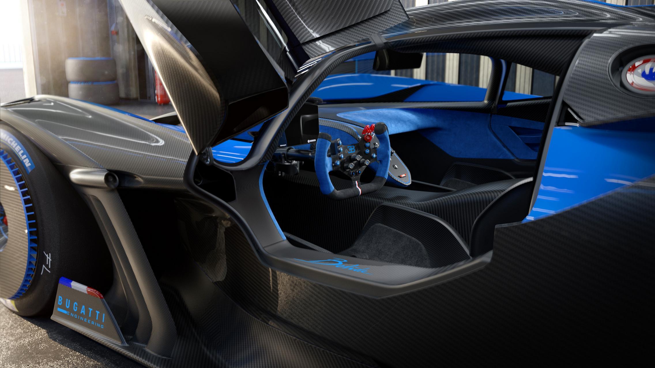 Bugatti Bolide Interior