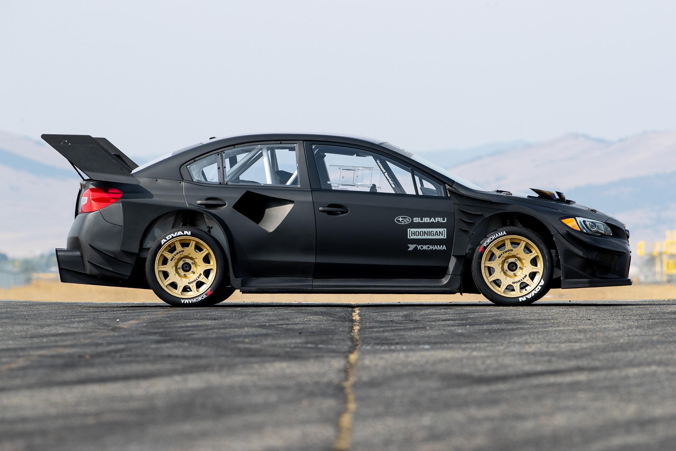 2020 Gymkhana Subaru WRX STI Side