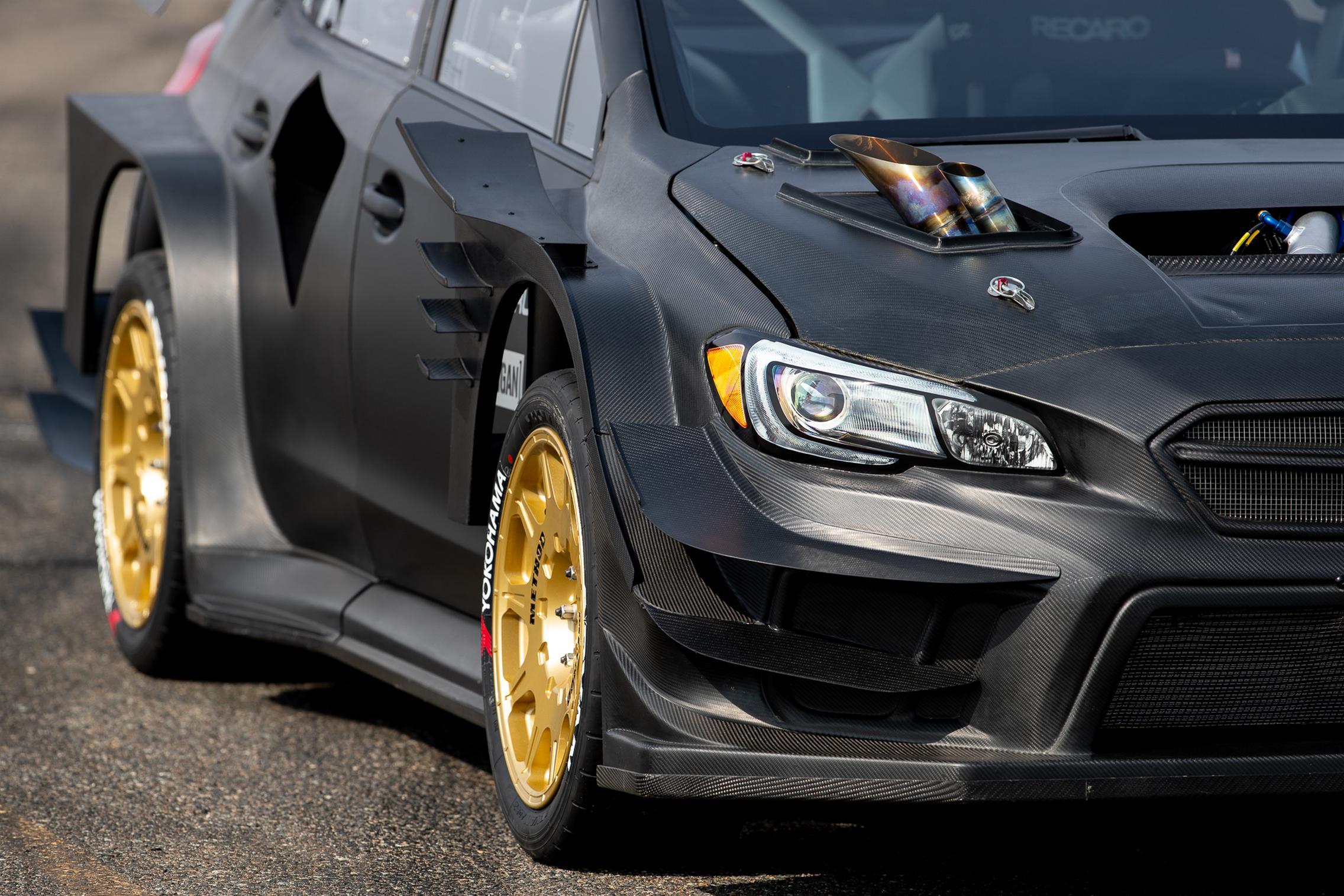 2020 Gymkhana Subaru WRX STI Exhaust