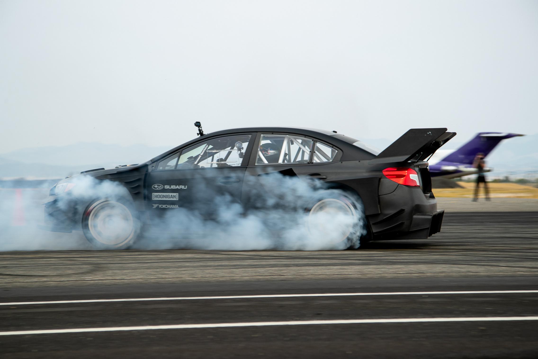 2020 Gymkhana Subaru WRX STI Burnout