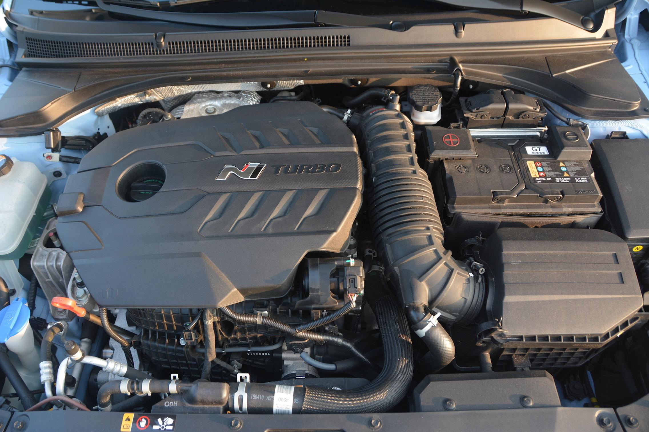 Hyundai Veloster N Engine