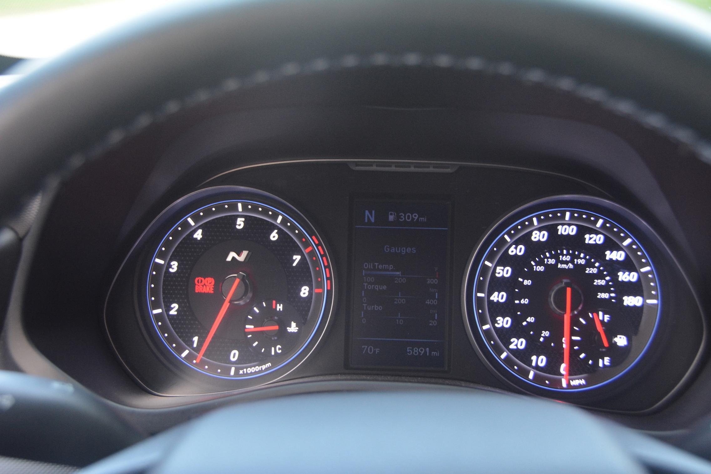 Hyundai Veloster N Speedo