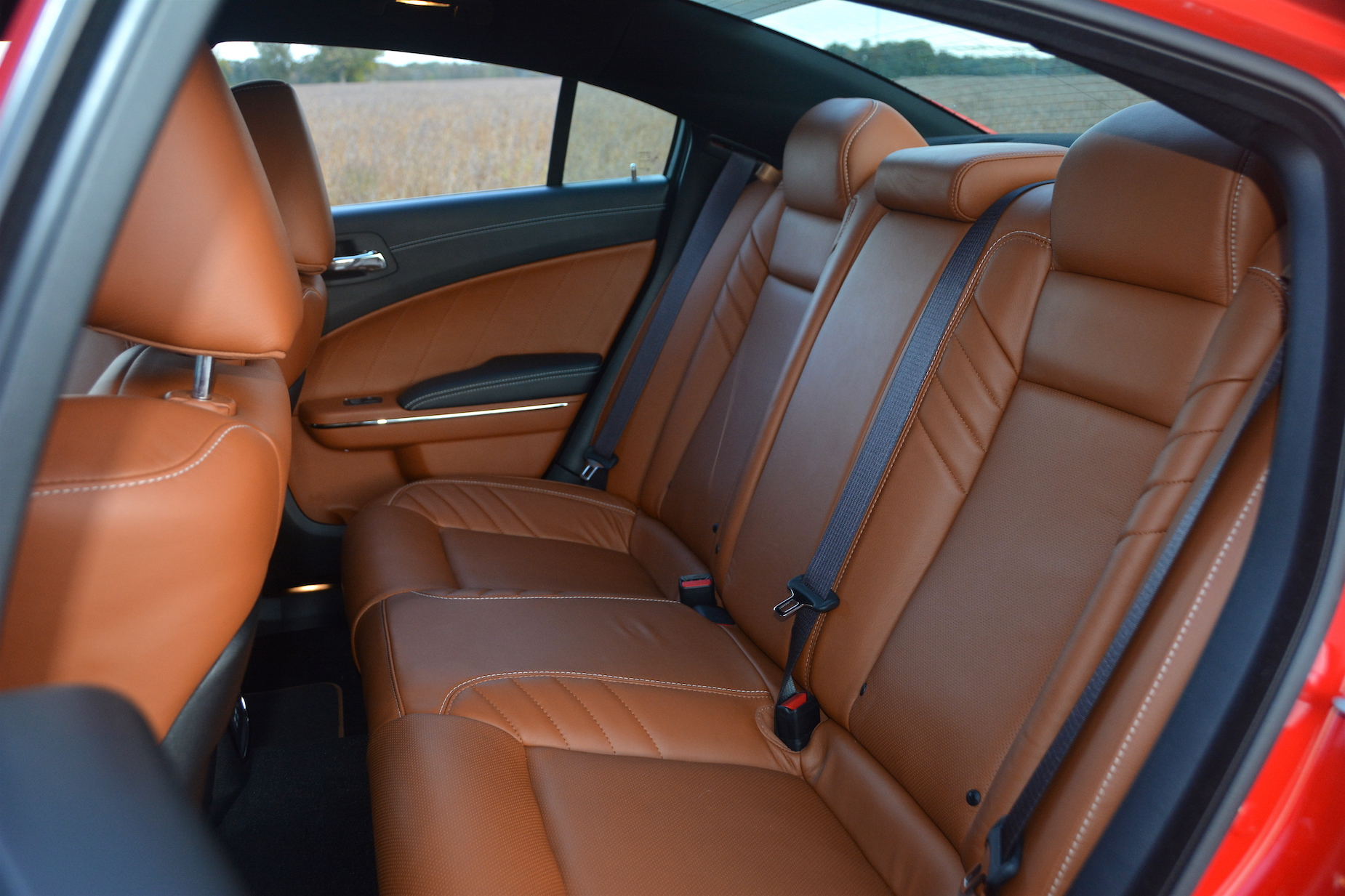 Dodge Charger SRT Hellcat Widebody Rear Seats