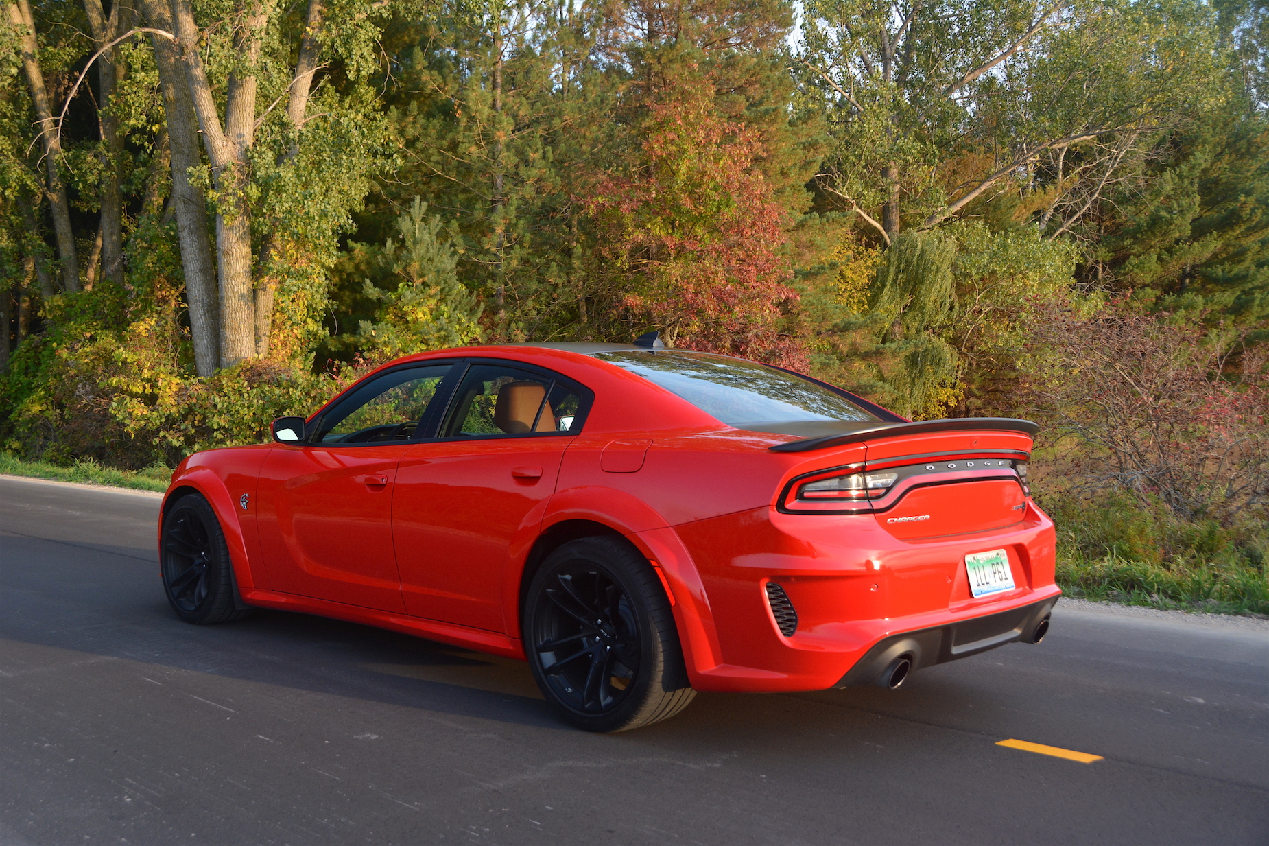 Dodge Charger SRT Hellcat Widebody Side Rear