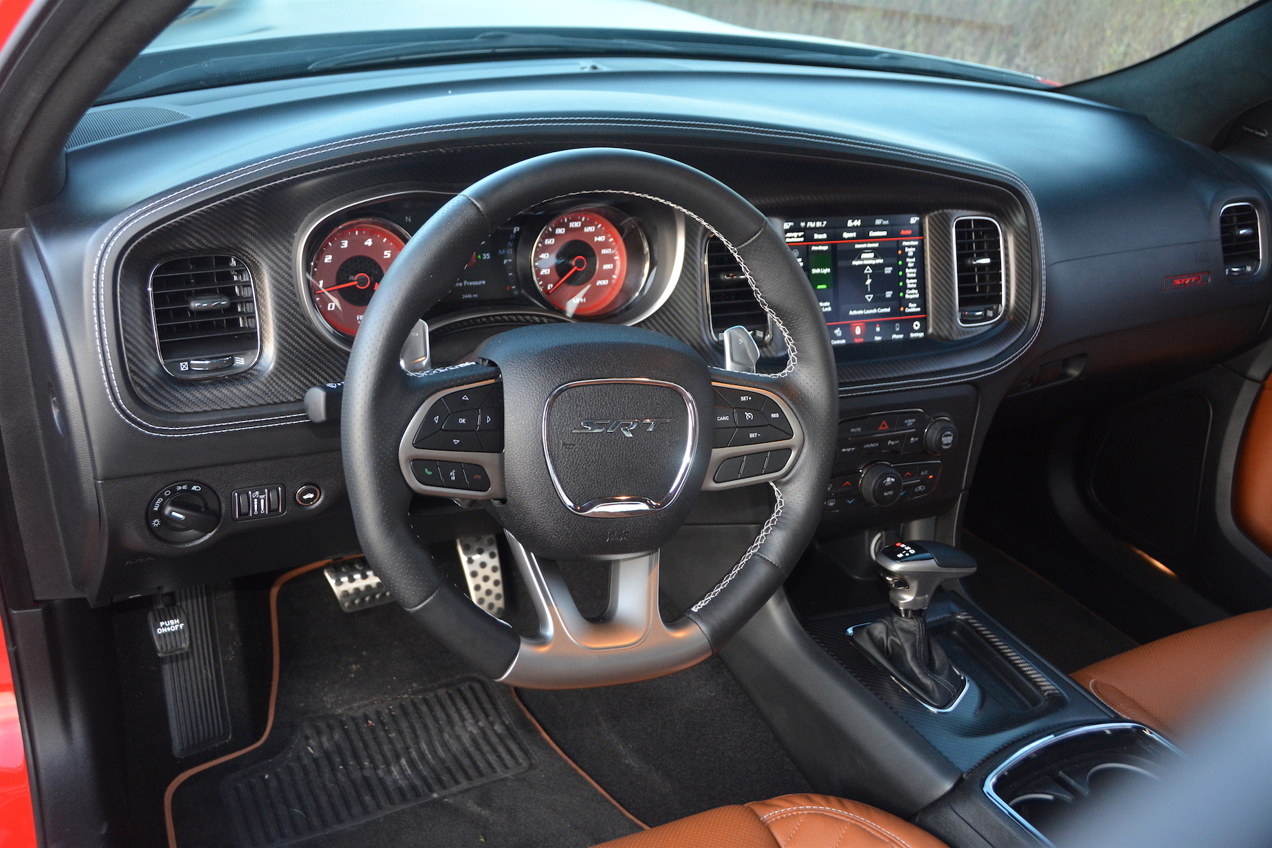 Dodge Charger SRT Hellcat Widebody Steering Wheel