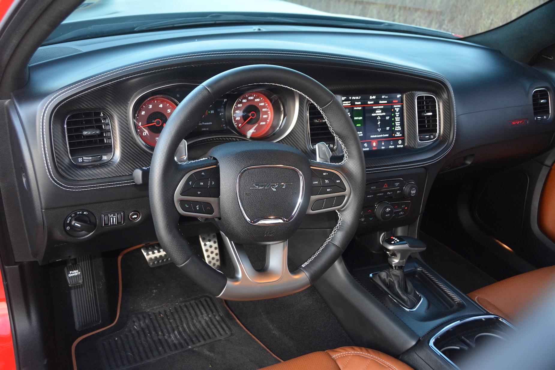 Dodge Charger SRT Hellcat Widebody Steering Wheel