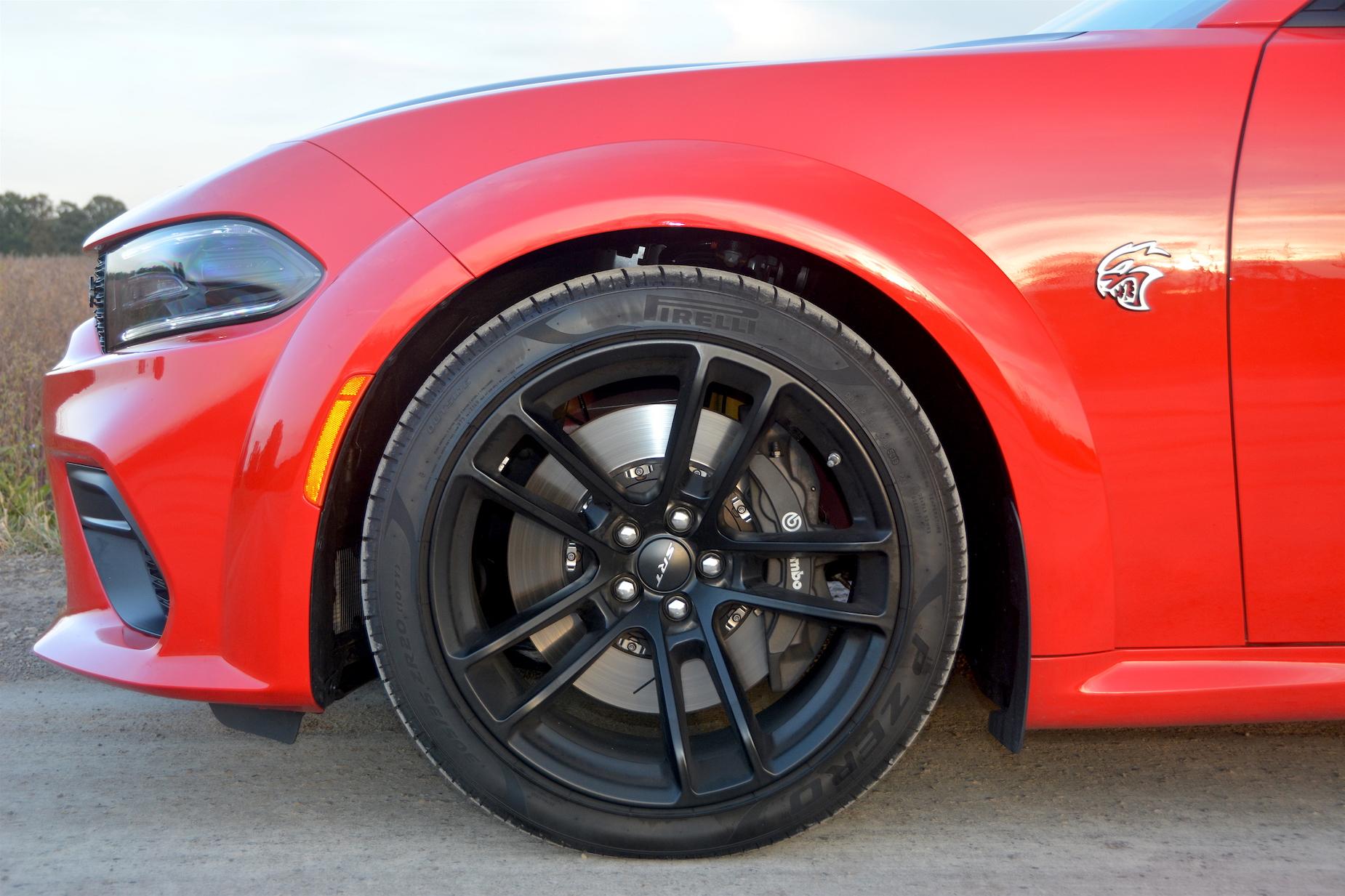 Dodge Charger SRT Hellcat Widebody Wheels