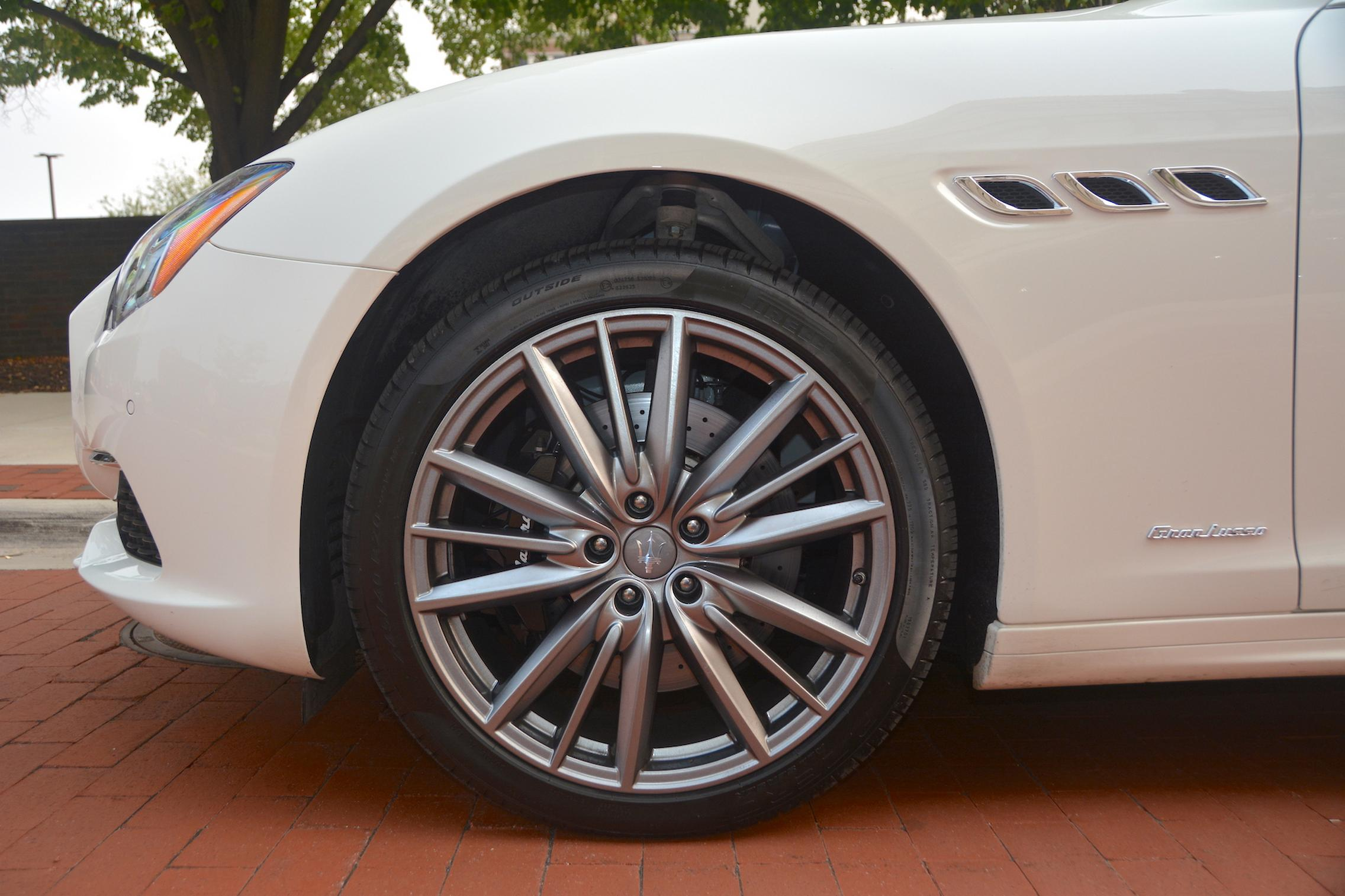 Maserati Quattroporte S Q4 GranLusso Wheels