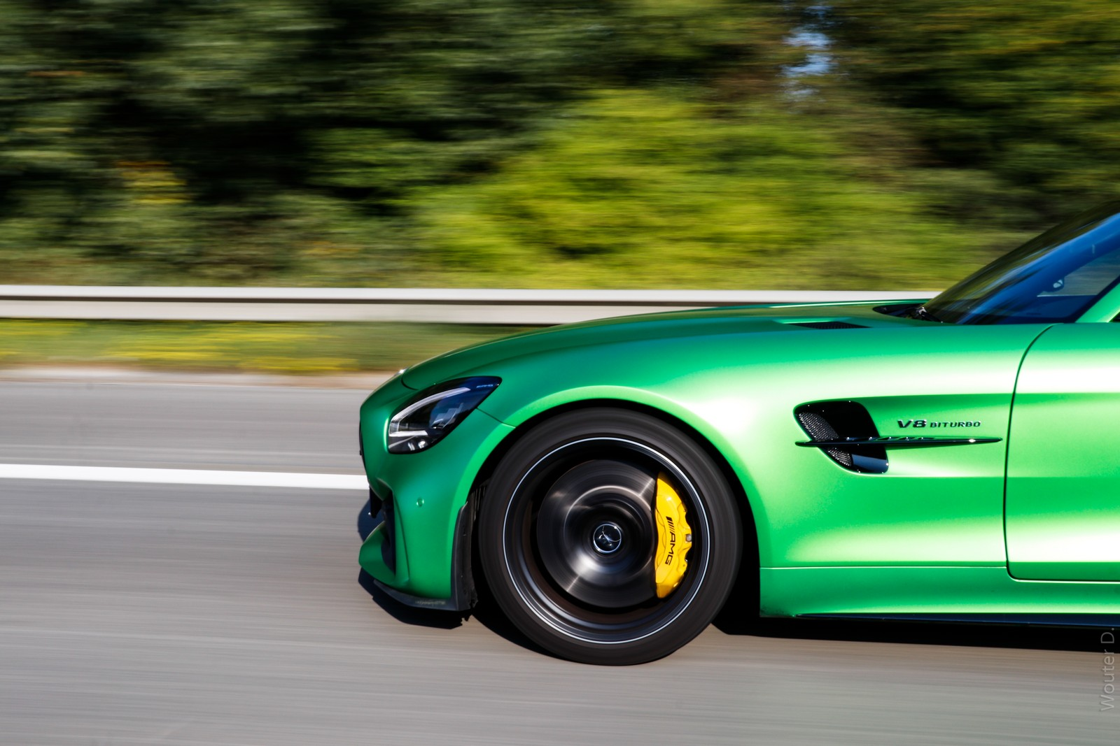 Mercedes AMG GT-R Wheels