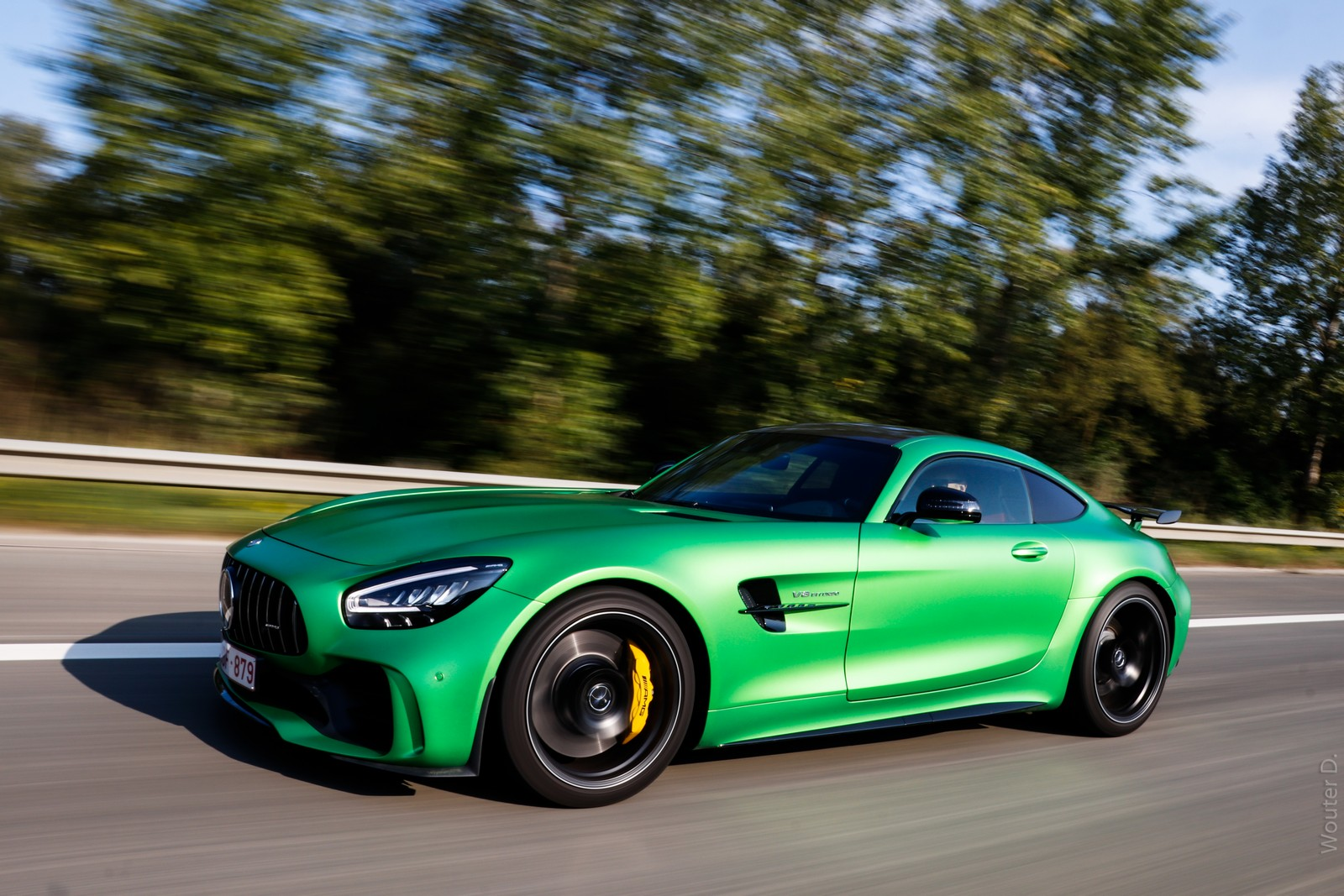 Mercedes AMG GT-R Wallpaper