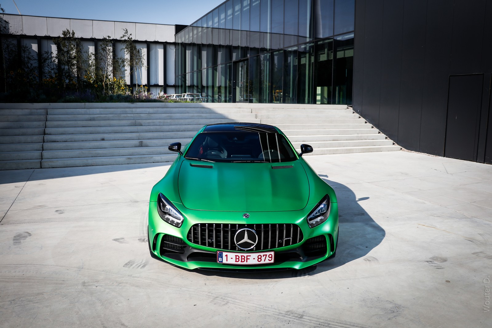 Mercedes AMG GT-R Front