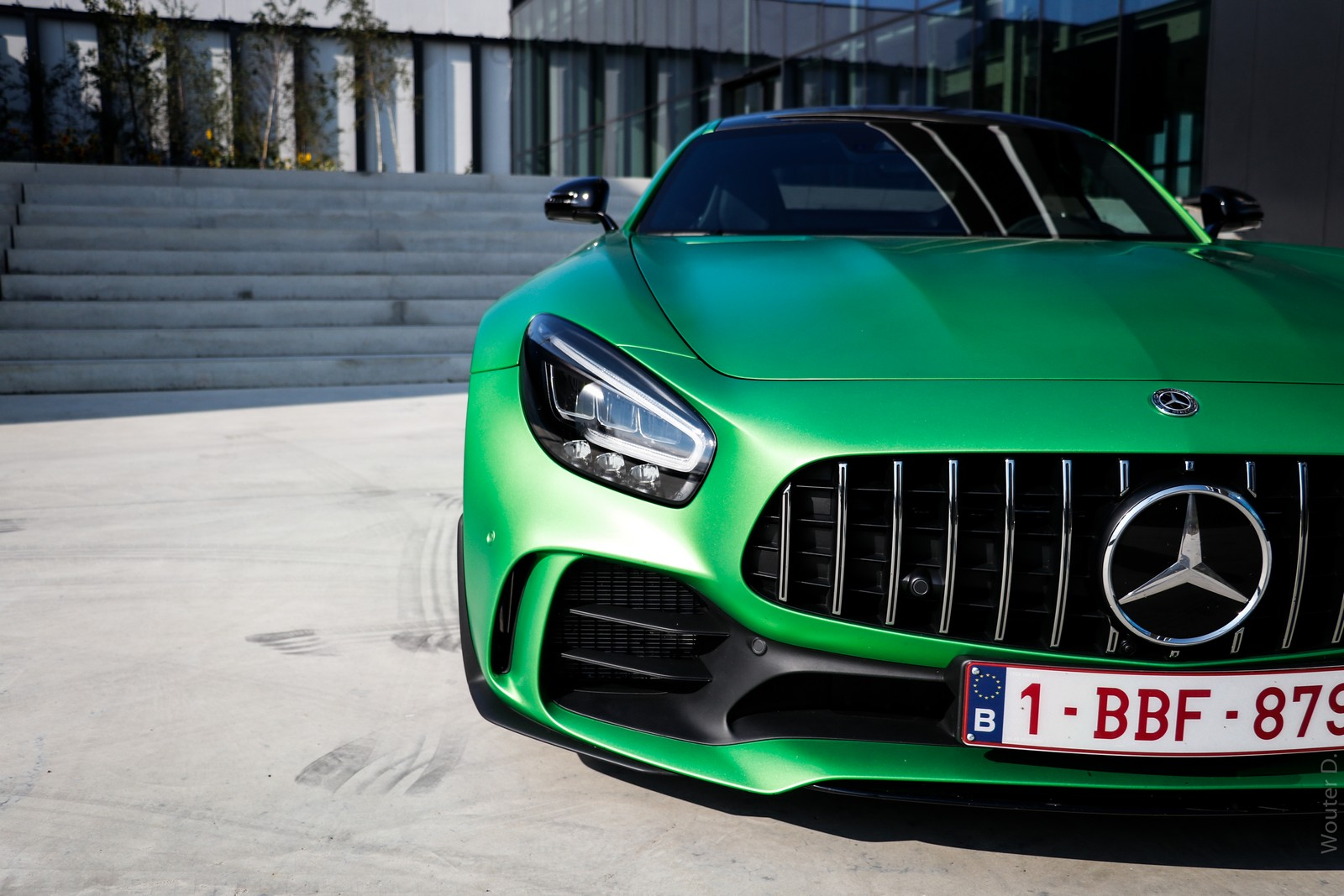 Mercedes AMG GT-R Headlight