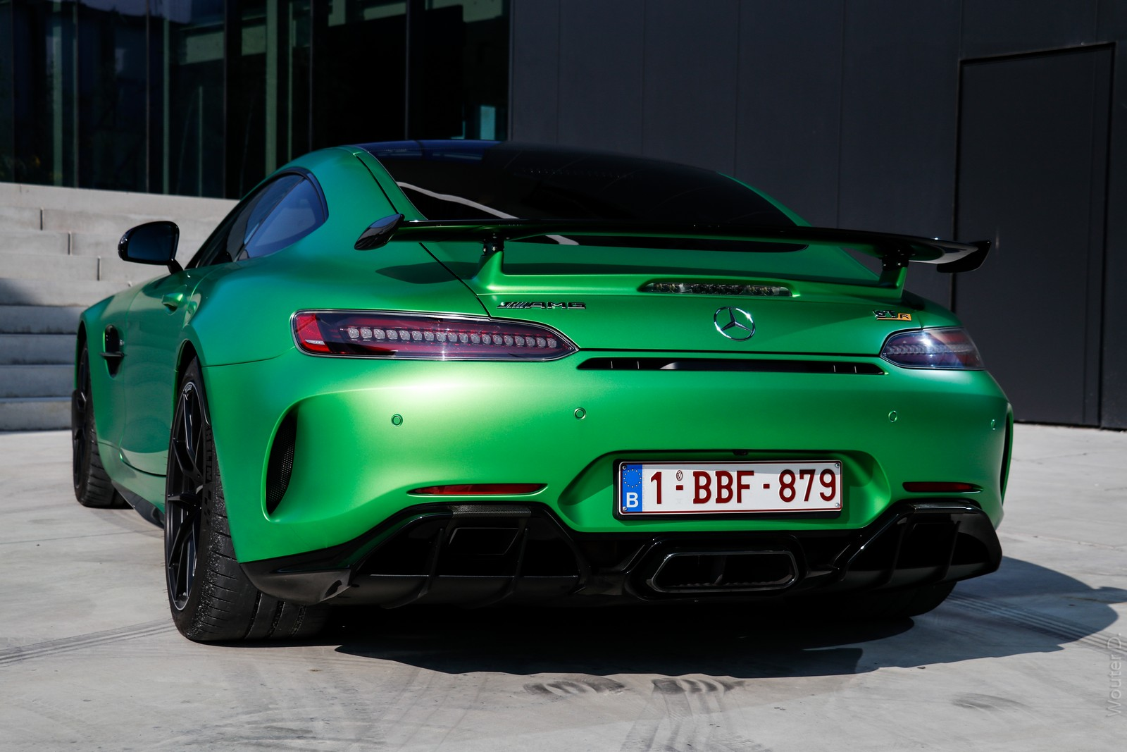 Mercedes AMG GT-R Rear Lights