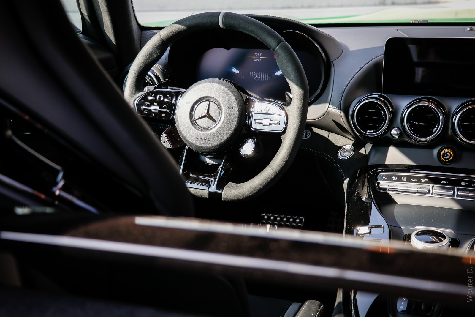 Mercedes-AMG GT R Steering Wheel
