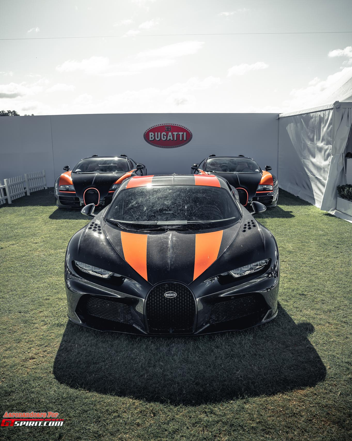 Salon Prive 2020 Bugatti Chiron Super Sport
