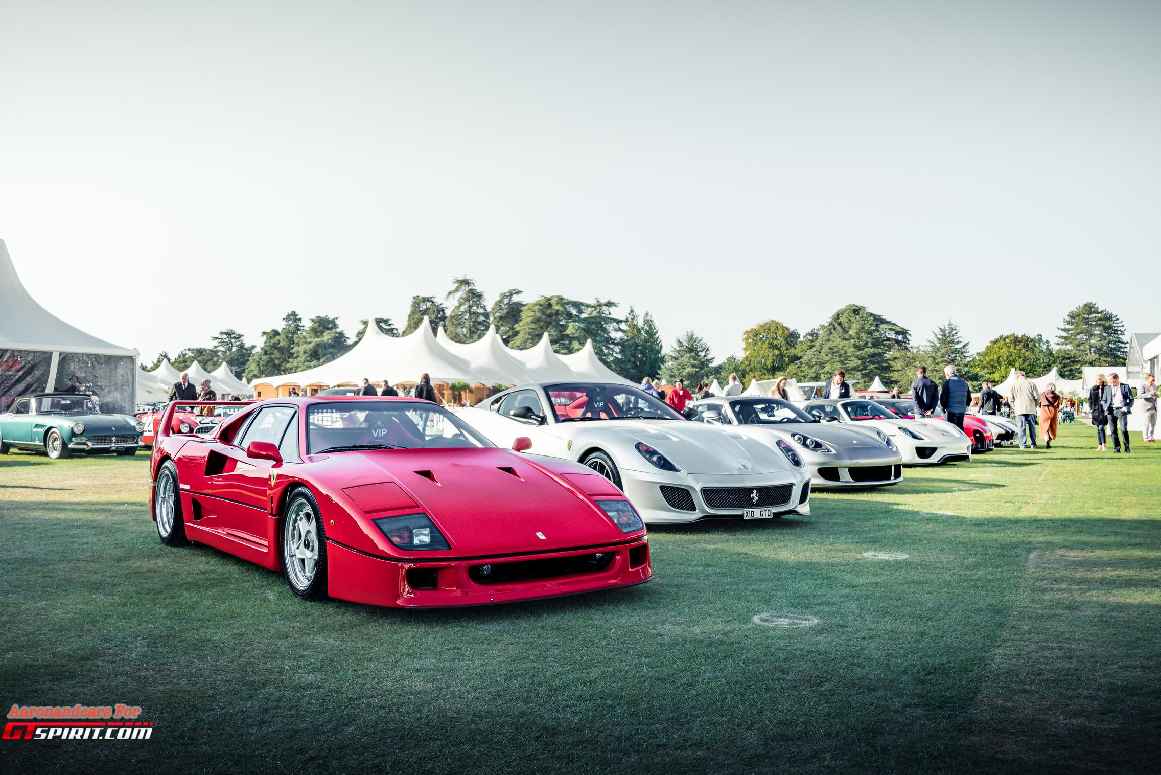 Salon Prive 2020 Ferrari F40